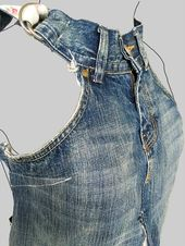 Jeanskleid 'dokjurk', lockere Passform, A-Linienform: MADE TO ORDER