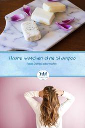Photo of Haare waschen ohne Shampoo ✅ Haarseife selber machen