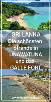 Sri Lanka Reisetipps – Strände in Unawatuna und das Galle Fort