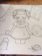 8 Best Melanie Martinez Coloring Book Ideas Melanie Martinez Coloring Book Melanie Martinez Cry Baby Coloring Book