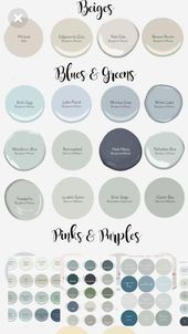 Anchor compared country style home decor paint colours