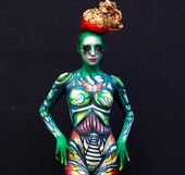 20 Creative Body Painting Pics That Will Blow Your Mind – Page 9 of 20 – Wackyy