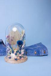 La Cloche de fleurs séchées / Années 90's — Pampa Floral Superstore