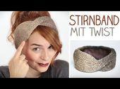 DIY Stirnband mit TWIST stricken für Anfänger u. Modefreaks – gefüttert im Winter – alive4fashion