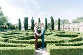 Wedding day photoshoot beautiful garden