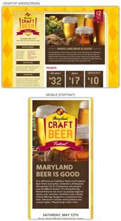 Maryland Craft Beer Festival's website is truly a great example of responsiv…