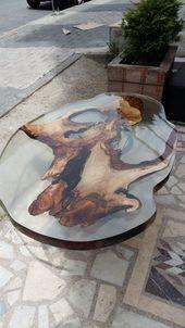 Über 40 kreative DIY-Couchtisch-Ideen, die Sie selbst gestalten können – epoxy table