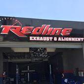 Redline Exhaust Alignment In Pomona Ca California Exhausted