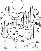Image Result For Desert Landscape Coloring Pages Paisajes Dibujos Cuadros De Joan Miro Dibujos De La Naturaleza