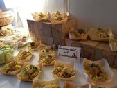 Bright wedding finger food u village pictures