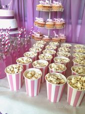 Super cute pink circus party – lots of great ideas here!