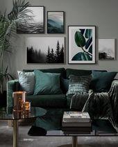 Kreative und inspirierende Wall Art für dein zu H…