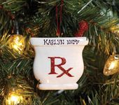 Personalized Mortar  Pestle Ornament  Ole Miss School of