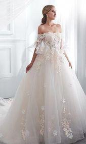 Es uno de los más bellos  he he visto #weddingdressessleeves