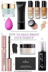 WIE MAN IHR MAKEUP SCHMELZT | Ich teile meine besten schmelzfesten Make-up-Tipps … – Enjoy Blog
