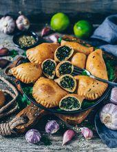 Empanadas mit Spinat (vegan) – Bianca Zapatka | Rezepte