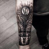Wald Tattoo Arm – Google-Suche