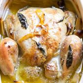 I didn't have any milk on hand for Jamie Oliver's Chicken in Milk, but I…