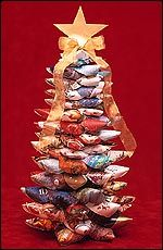 Christmas card tree beautiful christmas trees christmas cards and a recycling christmas spread the cheer of seasons greetings by recycling your cards to make m4hsunfo