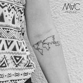 Für die Welt bist du irgendjemand, aber für irgendjemanden bist du die Welt… – Tattoos