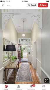 A Narrow Hallway Might Seem Behind A Curse Nevertheless It Offers Hence Much Potential For Interior Bea Bungalow Hallway Ideas Cottage Hallway Hallway Designs