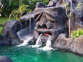 La piscina de Tiki en Duinrell   – Garten Design Pool