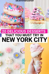 20 Finest Dessert Locations in New York Metropolis