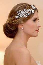 44 Chic Bridal Vintage-Inspired Headpieces