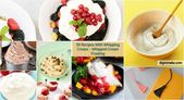 30 Rezepte mit Schlagsahne – Schlagsahne Zuckerguss