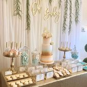 Oh Baby Holz Baby Shower Zeichen || oh Baby Babypa…
