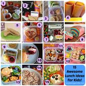 15 Awesome Ideas for Kids Lunches