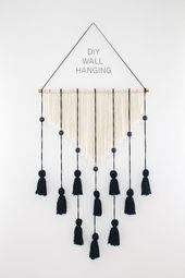 Wandbehang – DIY