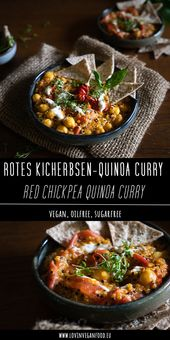 Red Chickpea Quinoa Curry – Curry