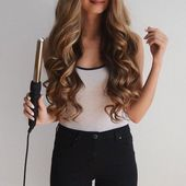 ▷ 1001 + ideas for curls with curling iron – hairstyles for special occasions, # occasions #special …
