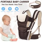Baby Carrier Amerteer Baby Carrier 4-in-1 Convertible Carrier Ergonomic Soft Breathable Mesh ...