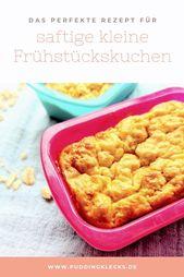 Breakfast cake with yogurt and applesauce   – Rezepte für Mini Me…