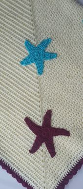 Baby blanket Baby blanket Cotton crocheted baby blanket Hand image 4   – örgü