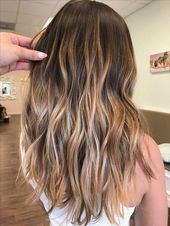 Amazing caramel balayage that you can do at home …