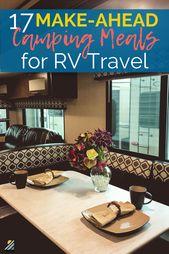 17 repas de camping à préparer, parfaits pour les voyages en camping-car   – Best of TREKKN