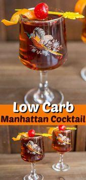 Holen Sie sich das perfekte Manhattan Cocktail Drink Rezept, dieses auf Whisky und Wermut basierende, …   – COCKTAIL RECIPES
