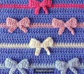[Free Pattern] Learn A New Crochet Stitch: Crochet Bow Stitch – Knit And Crochet Daily
