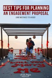 Best Tips For Planning An Engagement Proposal (And Mistakes To Avoid)   – Cool Proposals