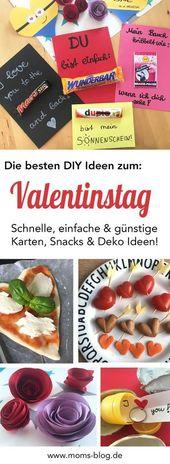 Die besten DIY Ideen zum Valentinstag