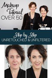 Über 50 Make-up Tutorial für Frauen mit natürlichen Produkten