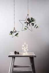 Pop in windows, hang from walls or sit on your mantle, our star is a versatile d…