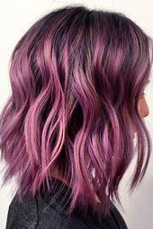 Hellviolettes Haar ist genau das, was Sie brauchen, wenn Sie …  – Μαλλιά και ομορφιά