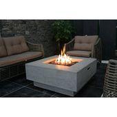 Manhattan Beton Propan / Erdgas Feuerstelle Tisch
