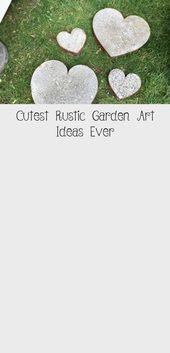 Cutest Rustic Garden Art – Schauen Sie sich die neuesten Trends in der Gartenkun… – My Blog