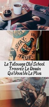 The Old School Tattoo – Find The Drawing That's Right For You