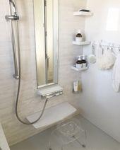 お風呂 我が家のお風呂は タカラスタンダード 特に理由はなかったのですが 壁がホーローなので 掃除がしやすいようです 新築に合わせて シャンプーやボディソープはmarks Webに 透明のおけと椅子は 存在感のなさで選びました 使ってみて知ったのですが 水垢